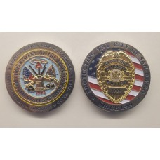 US Army/SDPD Coin