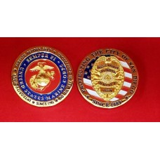 United States Marine Corp/SDPD Coin
