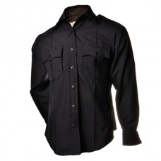Men's Elbeco Long Sleeve Uniform Shirt (+2 SDPD Patches attached)