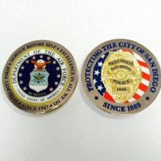 US Air Force/SDPD Coin