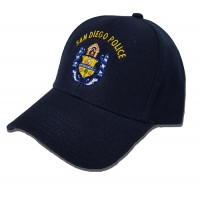San Diego Police Crest Hat