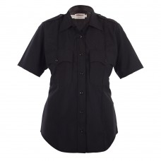 Women's Elbeco Short Sleeve Uniform Shirt (+2 SDPD patches attached)