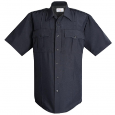 Men's Flying Cross Short Sleeve Uniform Shirt (+2 SDPD patches attached)