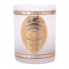 Frosted SDPD 12oz Glass