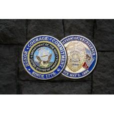Navy SDPD Coin