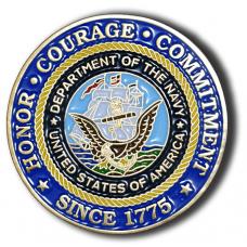 US Navy/SDPD Coin