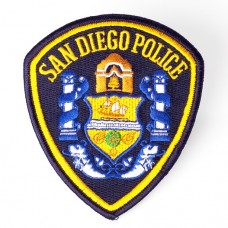 SDPD UNIFORM PATCH (limit 10)