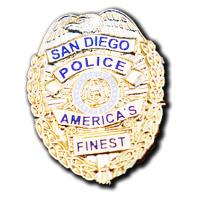 SDPD Badge Pin
