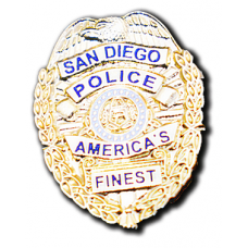 SDPD Badge Pin