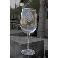 SDPOA Badge Wine Glass