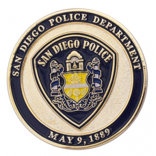 SDPD/SDPOA Challenge Coin