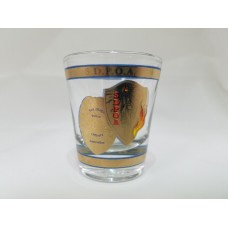 SDPOA Clear 1.5 oz Shot Glass